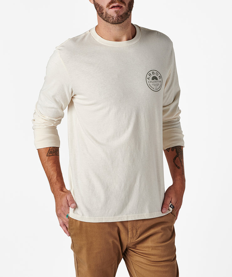 Woodshop LS Tee - Off White