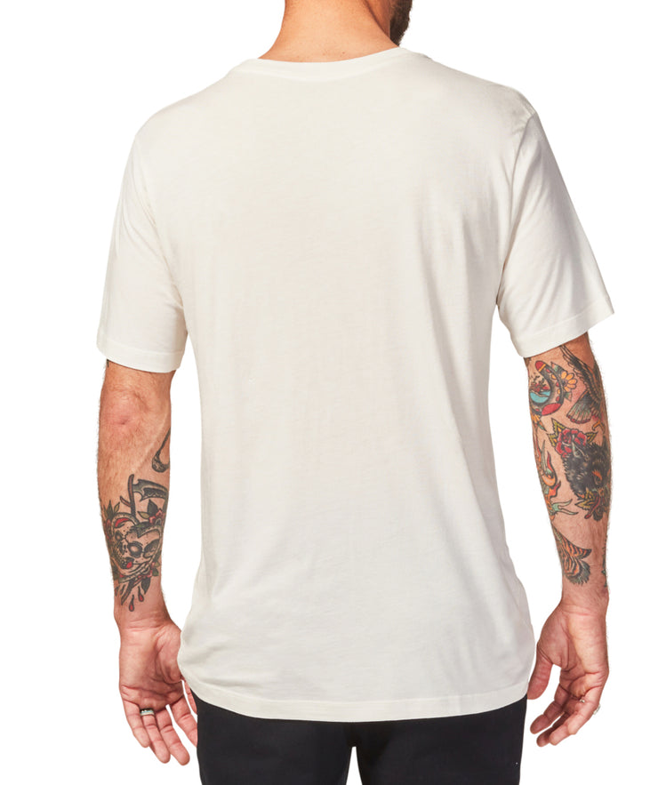 Daily Bamboo Tee - Off White