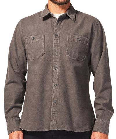 Foundation Chamois Shirt - Vintage Black