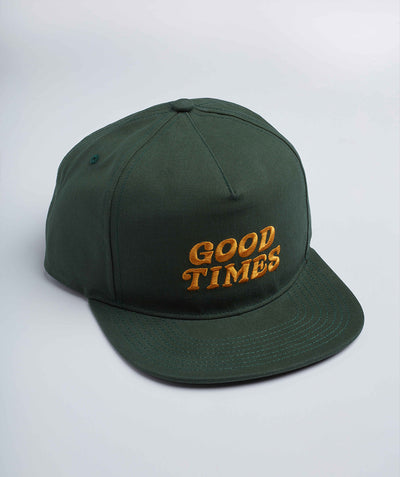 Goodtimes Cap - Emerald