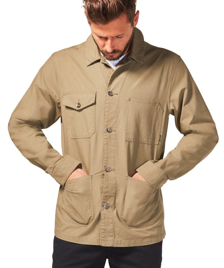 Hatch Jacket - Dusky Green