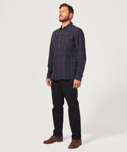 Mission Shirt - Black/Navy