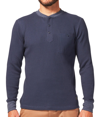 Night Ride Henley - Indigo