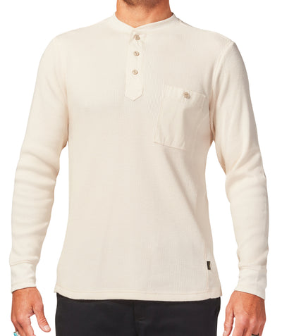 Night Ride Henley - Off White