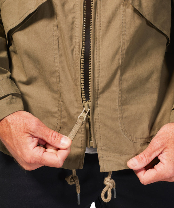 Shellback Jacket - Dusky Green