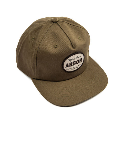 Central Cap - Olive Green