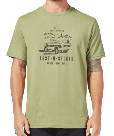 Cruiser Tee - Light Olive Green