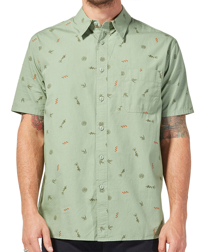 Desperado SS Shirt - Light Olive Green