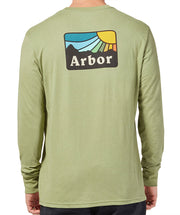 High Rise LS Tee - Light Olive Green