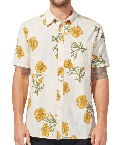 Poppy SS Shirt - Oat Yellow