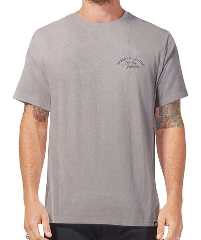 Shop Tee - Heather Grey