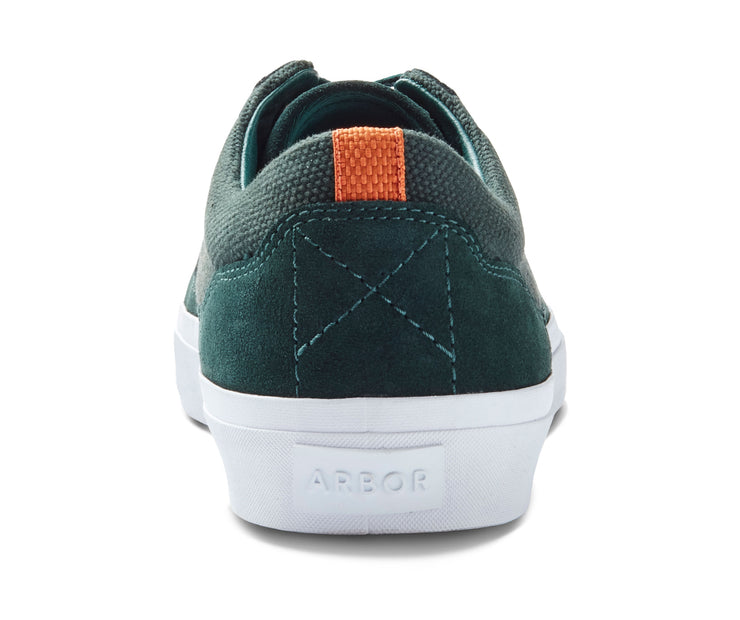 Foundation - Hunter Green/White