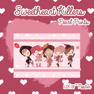 Sweetheart Killers Pearled Poster Print