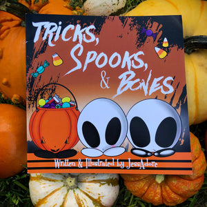 """Tricks, Spooks, & Bones"""