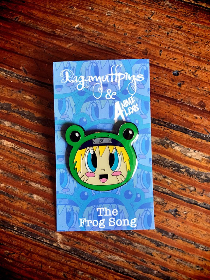 The Frog Song Enamel Pin