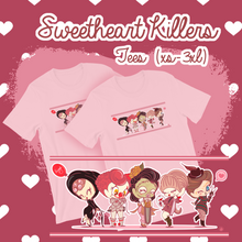 Load image into Gallery viewer, Sweetheart Killers Unisex Tees