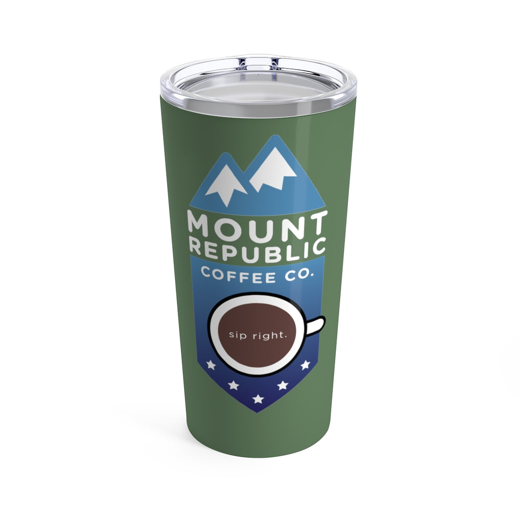 Tumbler-Green | Mount Republic Coffee Co.