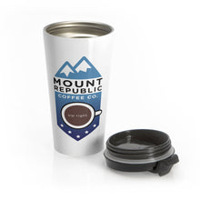 Load image into Gallery viewer, Stainless Travel Mug | Mount Republic Coffee Co.