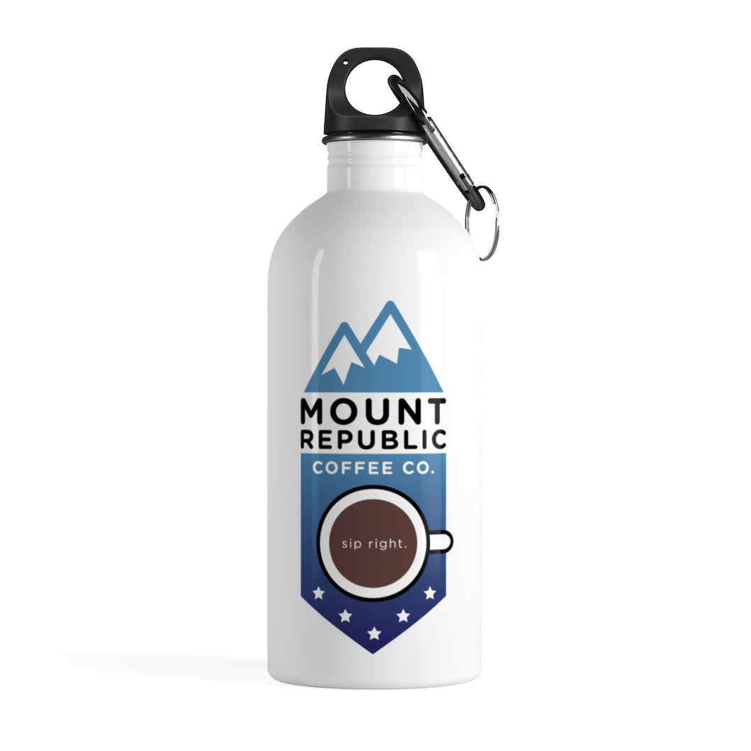 Stainless Steel Water Bottle | Mount Republic Coffee Co.