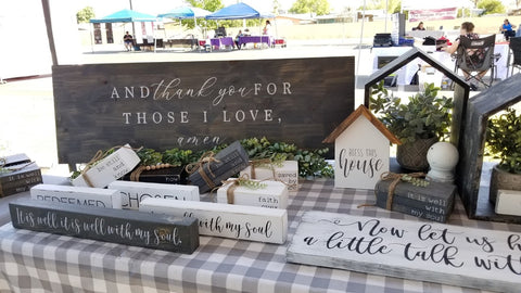 craft show display table