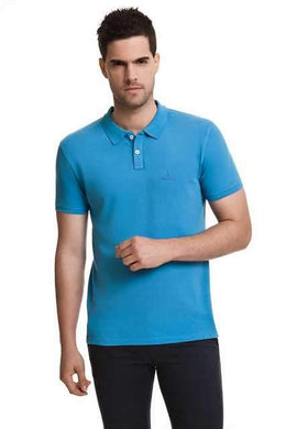 Javier Larrainzar Casual Polo Pique men