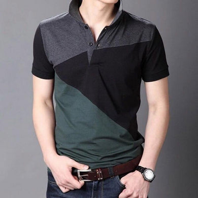 Casual Polo Shirts Short Sleeve Men Summer Cotton Breathable