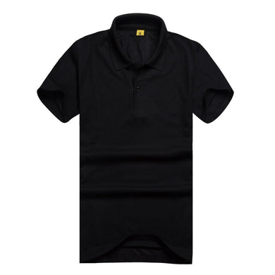 New Men's Polo Shirt High Quality Men cotton Short Sleeve shirt