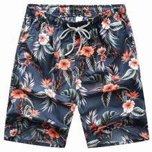 Load image into Gallery viewer, New Seobean Floral Mens Board Shorts Men Beach Swimsuit Shor