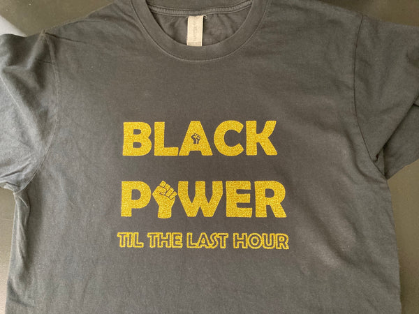 Black Power Organic Cotton XByCC T-Shirt