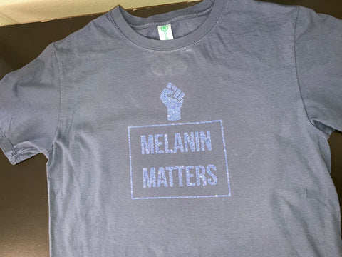 Melanin Matters Organic Cotton XByCC Little People T-Shirts