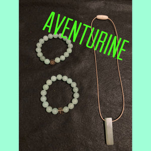 XByCC Aventurine Jewelry Set