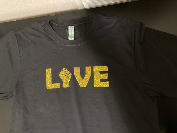 Black Love Organic Cotton XByCC T-Shirt