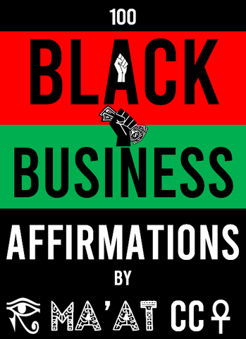 Black Business Affirmations Book ✊🏾🖤 (Pre-Order)