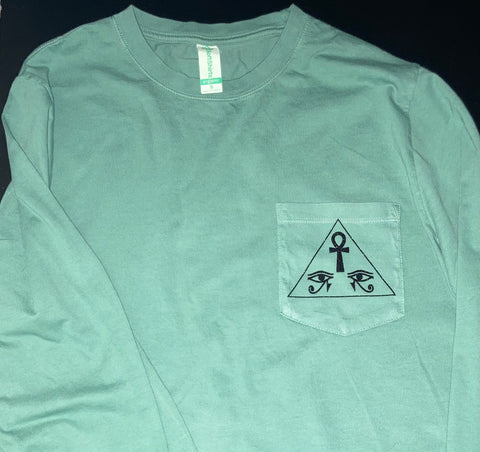 Long Sleeve Pyramid Vision XByCC Organic Cotton T-Shirt