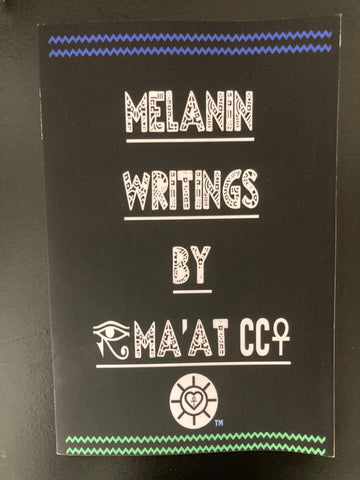 Melanin Writings Poetry Book (PDF Download)⬇️