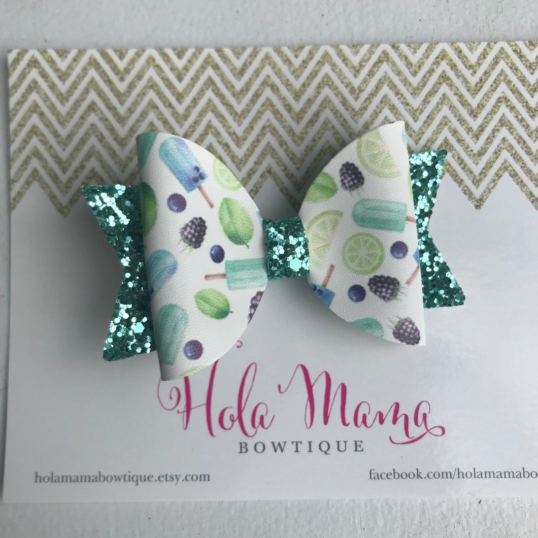 Lime summer bow