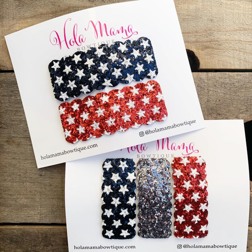 Patriotic Snap Clips