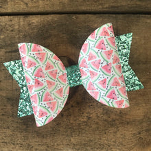 Load image into Gallery viewer, Watermelon Slice bow