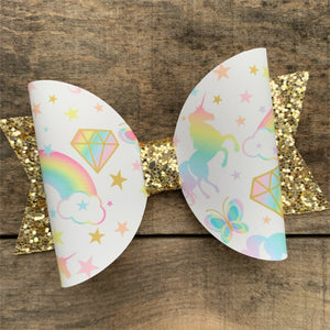 Diamond Unicorn bow