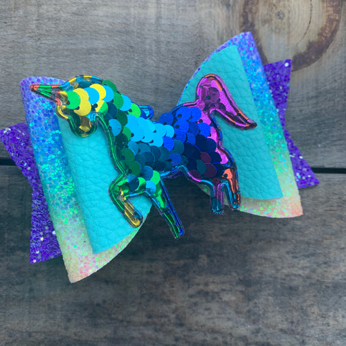 Flippy Unicorn bow