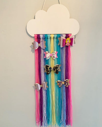 Cloud Rainbow Bow Holder
