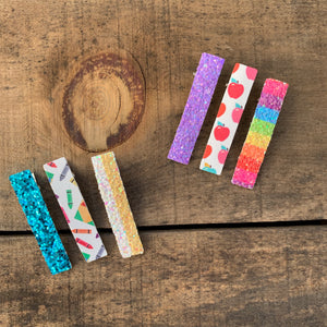 Back to school clippie sets