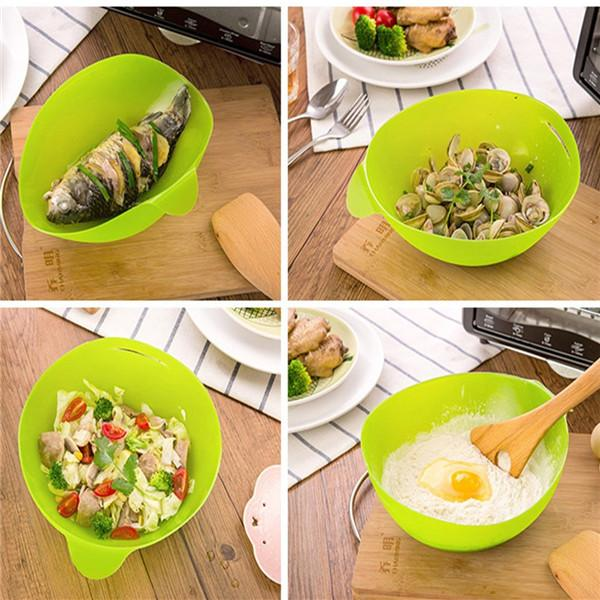 Silicone microwave cooking tool