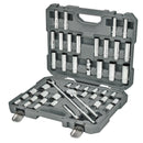 45 Pc. 1/2 in. Drive SAE/Metric Master Mechanics Tool Set