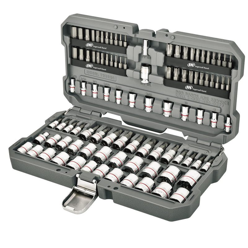 101 Pc. Tech Solutions Master Non-Slip Socket & Bit Set