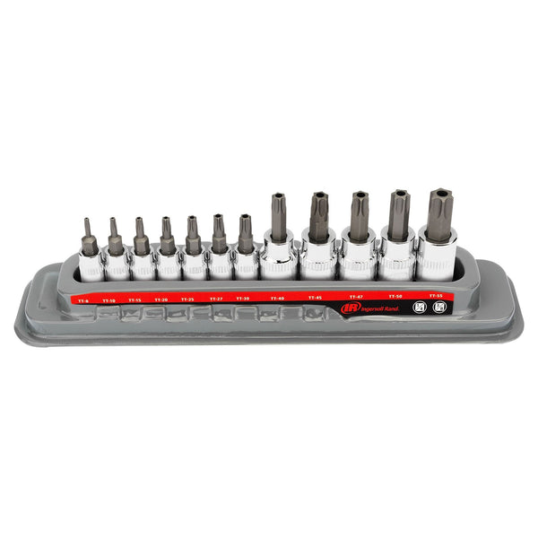 12 Pc. Tamper-Proof Torx Bit Socket Set