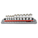 10 Pc. Universal Joint Socket Set - Metric 6 Pt.