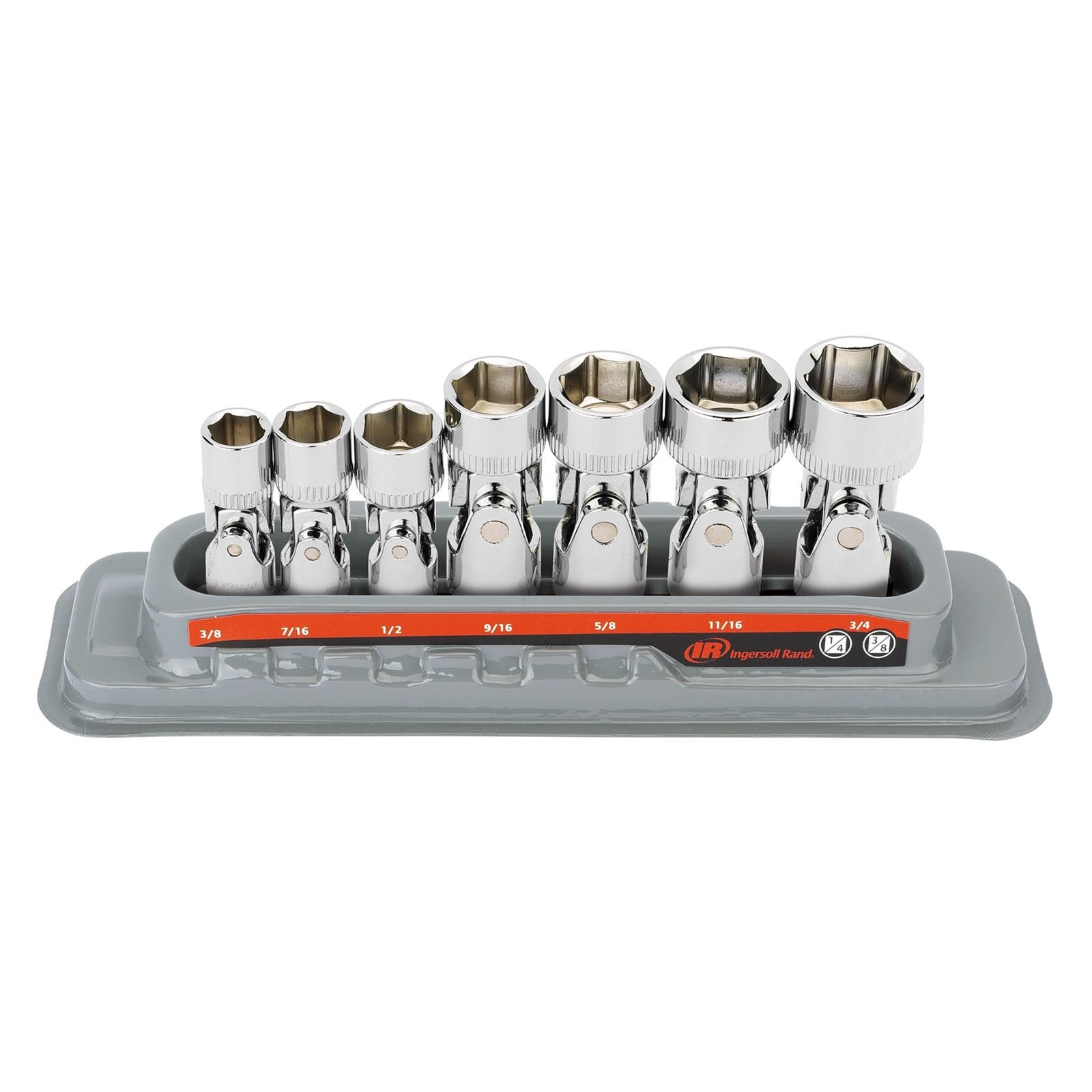 7 Pc. Universal Joint Socket Set - SAE 6 Pt.