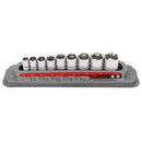 9 Pc. Tech Solutions Non-Slip Socket Set - Metric