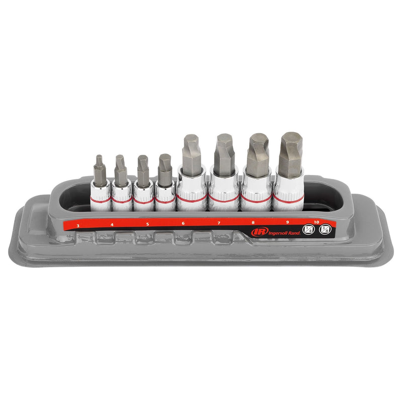 8 Pc. Tech Solutions Bit Socket Set - Metric